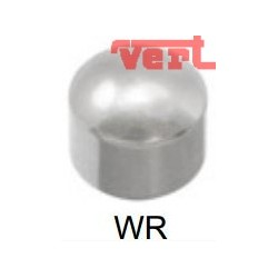 R200W (2W/NC) WHITE STAINLESS REGULAR - DOMED HEAD