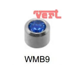 STM209W WHITE STAINLESS MINI SEPTEMBER BEZELSET SWM9