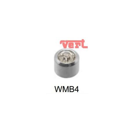 STM214W WHITE STAINLESS MINI CRYSTAL BEZELSET SWM4