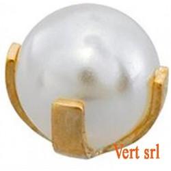 STM304 24CT GOLD PLATE MINI PEARL BEZEL SET SYMP12