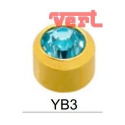 STR203 24CT GOLD PLATE REGULAR MARCH BEZELSET SY3