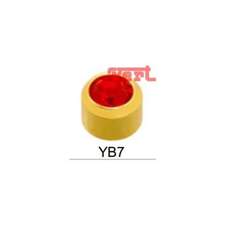STR207 24CT GOLD PLATE MINI JULY BEZEL SET SYM7