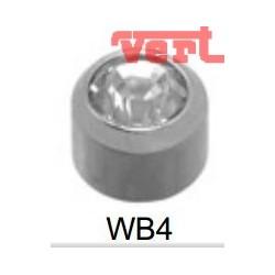STR214W WHITE STAINLESS MINI CRYSTAL BEZELSET SWM4