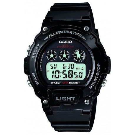 Watch Casio W-214HC-1A