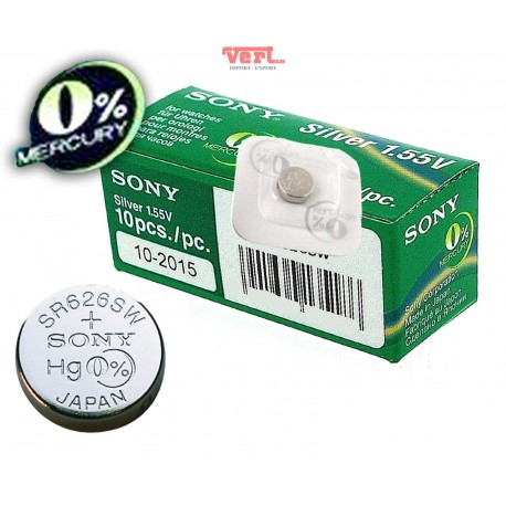 Battery Sony 362 GREEN