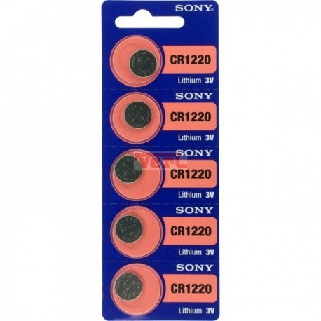 Battery Sony 1220 GREEN