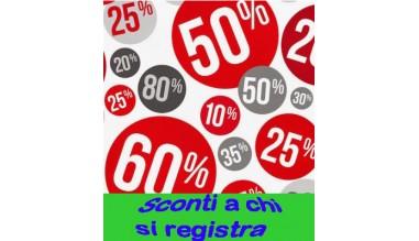 Sconti ai clienti dopo la registrazione e assegnazione account
